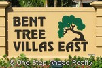 Bent Tree Villas East sign
