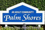 Palm Shores sign