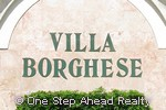 Villa Borghese sign